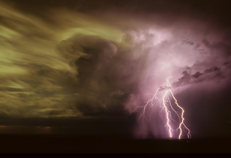 Lightning, Darling Downs, Australian images, scenery