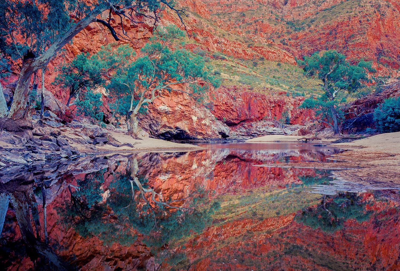 Ormiston Gorge, Australian landscapes