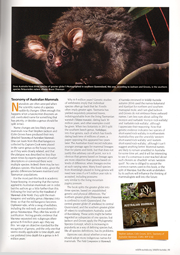 Wildlife Australia Magazine